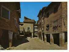 Postal Alquezar (Huesca) Plaza Mayor y mercado moruno