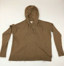 J Crew  Hooded Sweater  Pullover Sz S