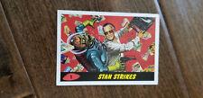 2013 COMIKAZE EXCLUSIVE  TOPPS MARS ATTACKS STAN LEE STRIKES PROMO CARD # 1