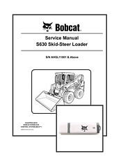 Bobcat S630 Skid Steer Workshop Repair Service Manual 6990741 USB + Download