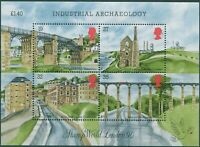 Great Britain 1989 SG1444 QEII Industrial Archaeology MS MNH
