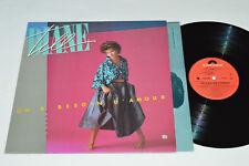 DIANE TELL On a besoin d'amour LP 1984 Polydor Canada 2424 249 VG+/VG Pop Quebec