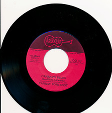 Canray Fontenot His Folks Dont Want to See Him No More / Canrays Blues Zydeco 45