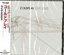 COLDPLAY-LIVE2003 -JAPAN CD Ltd/Ed  C75