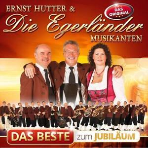 CD Ernst Hutter & Die Egerländer Musikanten Das Beste zum Jubiläum (K120)