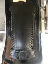 Harley Davidson Dyna Wide Glide  Braided Leather Tank Panel  FXDWG 1993-03