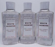 3 Bath & Body Works WHITE JASMINE Shower Gel Body Wash