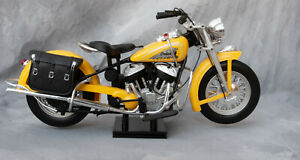 New Ray Indian Motorcycle Chief 1998Yellow 1/6 Scale