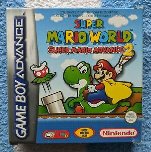 Super Mario World for Nintendo Gameboy Advance GBA Boxed