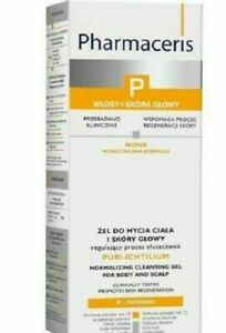 Pharmaceris P Puri-Ichtilium Cleansing Gel/Żel do mycia ciała i skóry głowy250ml