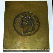 More details for king george iii bronze medallion mould