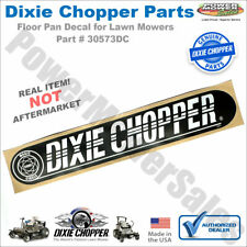 Dixie Chopper Floor Pan Decal for 5018 Magnum & Other Lawn Mowers / 30573Dc