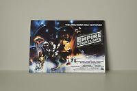 Star Wars The Empire Strikes Back 001 Framed Canvas Print