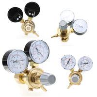 Dual Jauge manomètre Régulateur Argon CO2 AR Gaz Réducteur de Pression Soudage