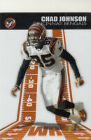 2004 Topps Pristine Football Card #46 Chad Johnson Bengals