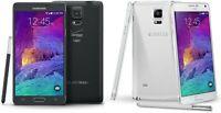 """Samsung Galaxy Note 4 N910V 32GB 5.7"""" - GSM/CDMA Fully Unlocked - Refurbished!"""