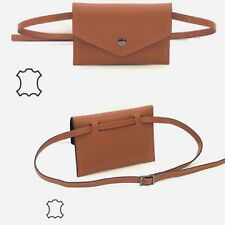 Señora 100% cuero bolso de riñón/bolsa Belt/hufttasche Woman Leather Bag 🔥