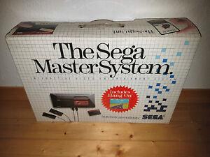## SEGA Master System 1 Konsole in OVP - TOP Zustand - für Sammler ##