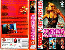 """VHS - """" CUNNING Contenders - American Women`s WRESTLING """""""