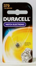 NEW! Duracell 379 Button Coin Battery Silver Oxide 1.5 volt Watch or Calculator