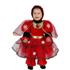 Vestito Costume Coccinella 10/12 Mesi Carnevale Pegasus Animale Animaletto