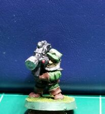Warhammer 40k Space Dwarf Rogue Trader Squat Heavy Weapon All Metal Rare OOP #6