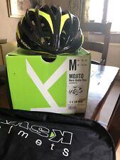 Kask Mojito - Road Bike Cycling Helmet Medium 52-58cm Black & Fluro Yellow