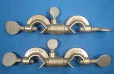 Fisher Castaloy Clamp Swivel Holders X2 Early Model Free Shipping Cc