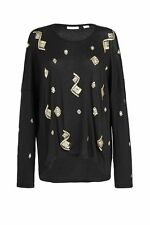 Long Sleeve Embellished Tees for Women