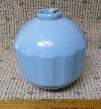 Antique/Vintage Struthers Blue Milk Glass Lightning Rod Ball