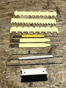Zubehör Deckernadel Lochkarten für Strickmaschine EMPISAL Knitmaster Mod. 250