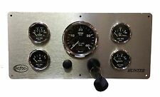 Hunter Sailboat Engine Panel with 5 gauges, ready to install