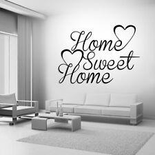 HOME SWEET HOME Preventivo Adesivi Da Parete ARTE Camera Rimovibile Decalcomanie fai da te