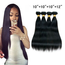Straight Brazilian 4bundles/200g 100% Virgin Human Hair Extensions Unprocessed