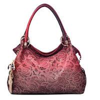 Women Handbag Delicate Shoulder Bag Hollow Hobo Totes Lady Pendant Decor Purse