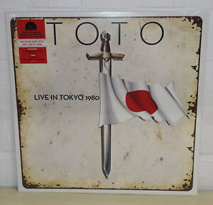 TOTO - LIVE IN TOKYO - RED - RSD 2020 - LP