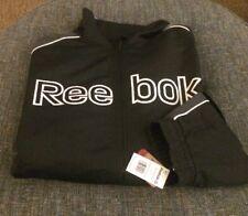 Nwt Reebok Baseball Coaches Jacket Mens Big&Tall Size 5XL (4XL) Black/Gray A2
