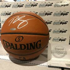 BEN SIMMONS SIGNED AUTOGRAPHED FULL SIZE OFFICIAL GAME BASKETBALL UDA COA NBA