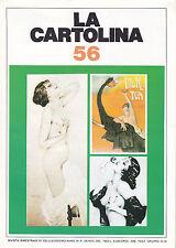 LA CARTOLINA N.56 - Rivista 1992 - Raphael Kirchner Glauco Cambon Napoli Radio