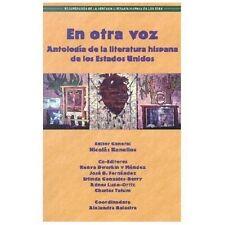 En Otra Voz: Antologia de la Literatura Hispana de los Estados Unidos (Paperback