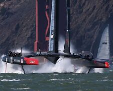 America's Cup Sailboat Yacht USA Team Oracle San Francisco Bay Photo Magnet New