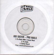 (P87) Kid Sister, Pro Nails - DJ CD