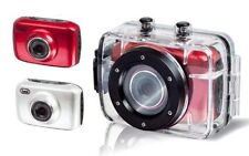 Trevi GO2200 Sport Digital Camera/HD Video Recorder  Under Water/Sports in White