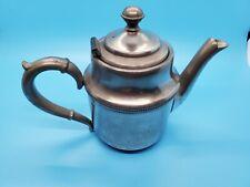 New ListingAntique Manning Bowman & Co Silver/ Metalware Teapot Coffee Pot