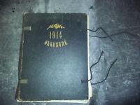 """WW1 JOURNAUX"""" 1914 ILLUSTRE """" 1915 - Reliure Professionnelle -N°1 à 45 incomplet"""