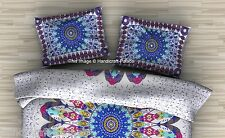 Psychedelic Ombre Mandala Pillow cover Bohemian Indian Cushion Cover 2 Piece Set
