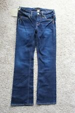 New Silver Blue Jeans TONI Womens Low Rise 28 x 29