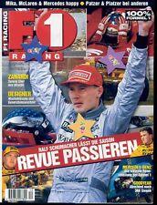 F 1 Racing Nr. 12-1998,Formel 1 Motorsportmagazin,Sammlerstück,