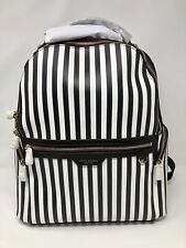 Henri Bendel Centennial Stripe Travel Backpack *NWT