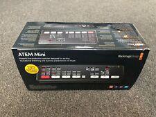 Blackmagic Design Atem Mini Hdmi Streaming Video Production Switcher